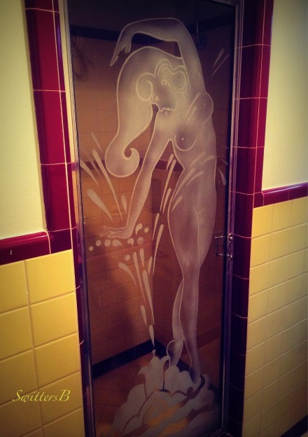 Nude Woman-Shower Stall Door-Nude-Glass Door-Photography-MCM-SwittersB