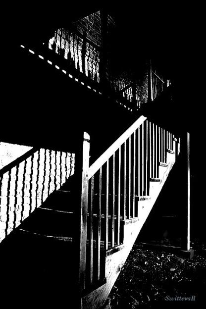 stairway-photography-shadows-NW Portland-Noir-SwittersB