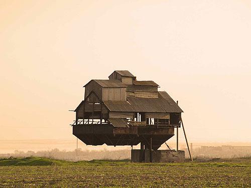 ukraine--floating old fertilizer bn