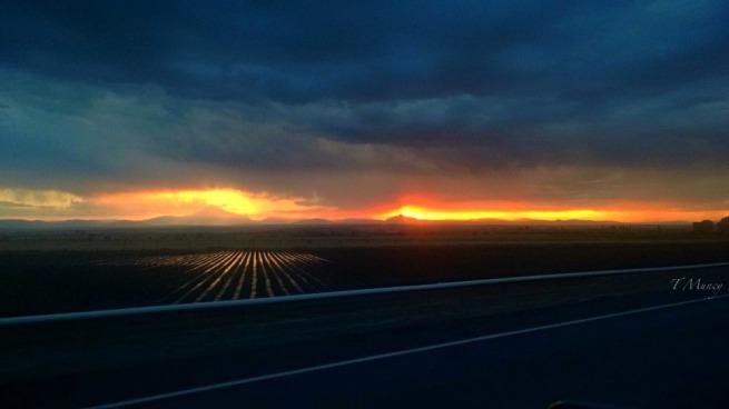 Cascades-Sunset-Irrigated field-US 97-photography-landscape-Tony Muncy-SwittersB