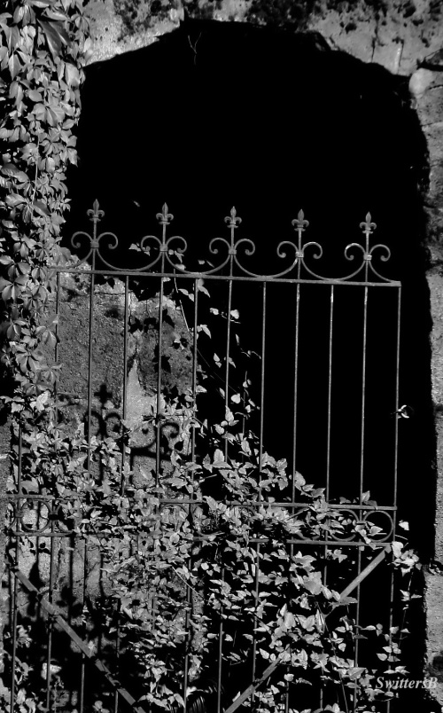 gate-entry-dark-black and white-photography-SwittersB