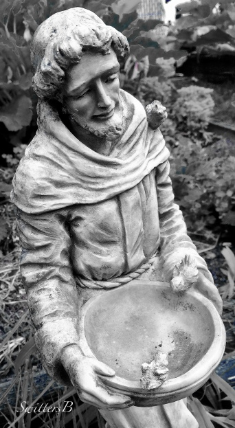 St. Francis-yard art-gardening-photography-SwittersB