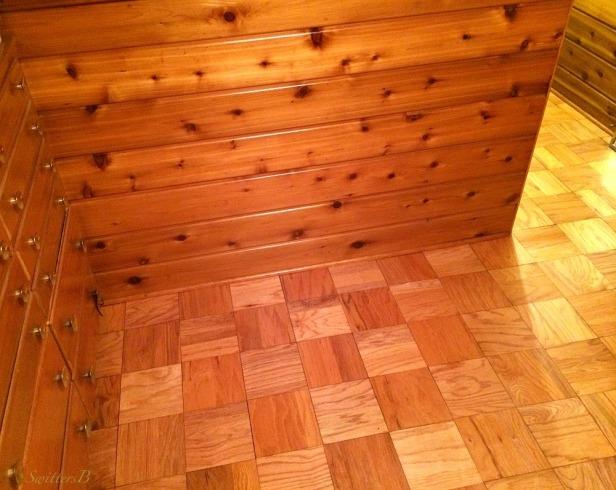 wood floors-wood walls-1950-vintage-photography-SwittersB