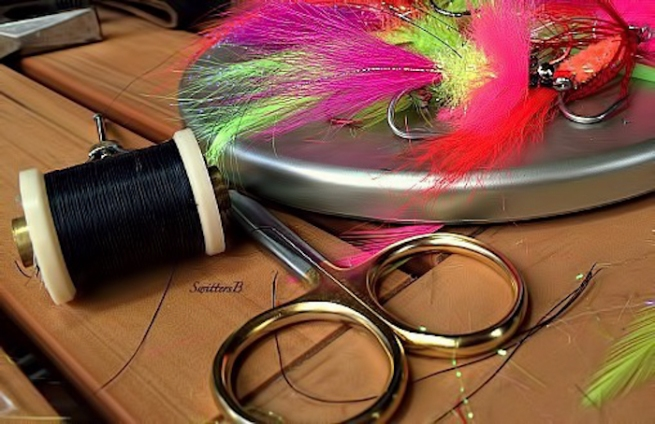 comets-salmon-flies-fly tying-fly fishing-photography-SwittersB