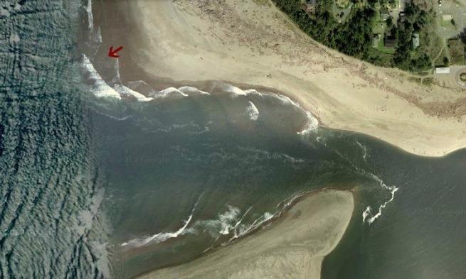 mouth siletz bay-aerial-siletz river-Oregon-pacific ocean-SwittersB