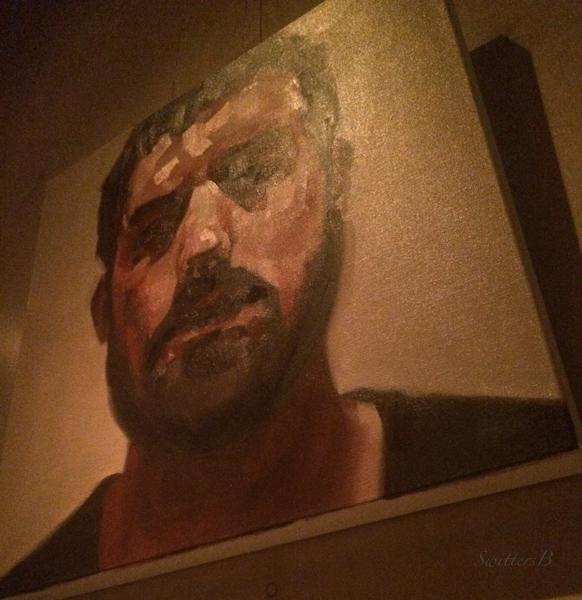 bar-Portland-brooding man-art-SwittersB-photography