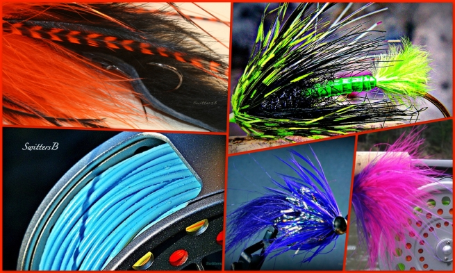 collage-Steelhead flies-steelhead-fly fishing-photography-SwittersB