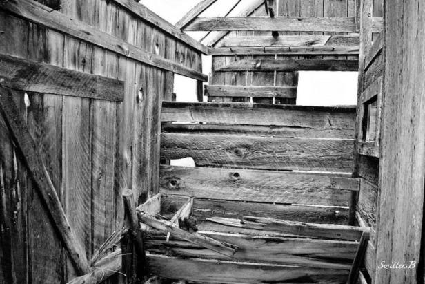 Oregon, The Dalles, Pioneer, cut lumber, trough, SwittersB