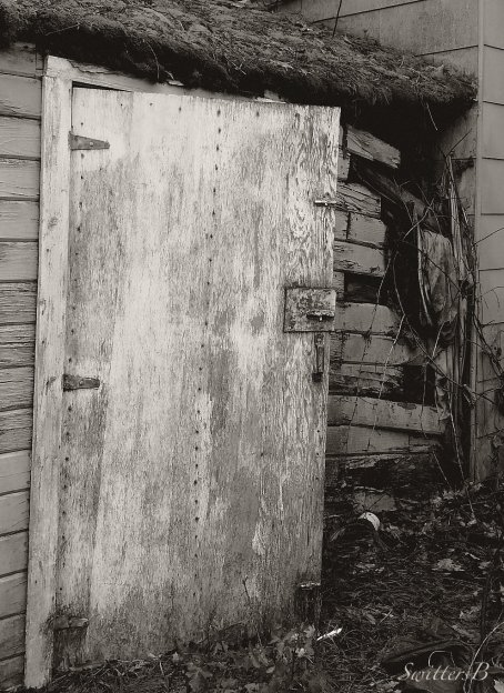 door ajar-dark place-shed-SwittersB-rustic
