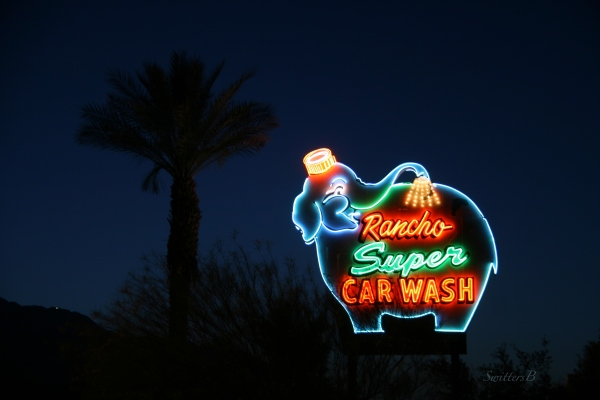 car wash-vintage sign-Rancho Mirage-SwittersB-photography