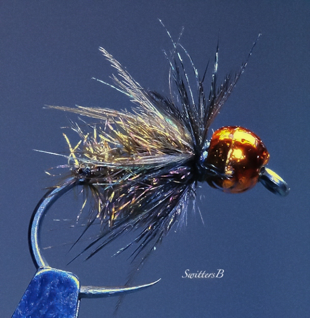 Copper Beaded Fuzz-SwittersB-Bead head-fly tying-fly fishing