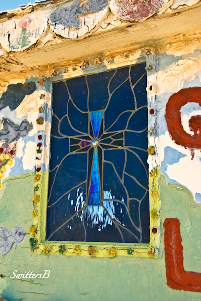 salvation mountain-leaded glass window-SwittersB
