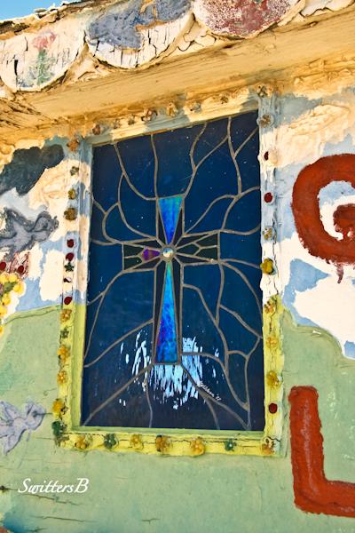 salvation mountain-leaded glass window-SwittersB