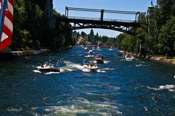 Montlake Cut-SwittersB-Seattle-boats