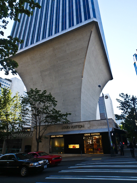 Rainier Tower, base, Seattle, SwittersB
