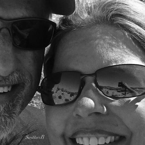 selfie reflection, travel, desert, photo, SwittersB