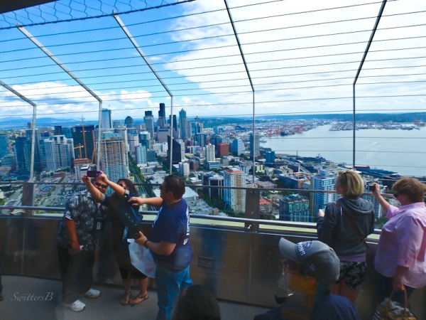 selfies, Seattle, Space Needle, SwittersB