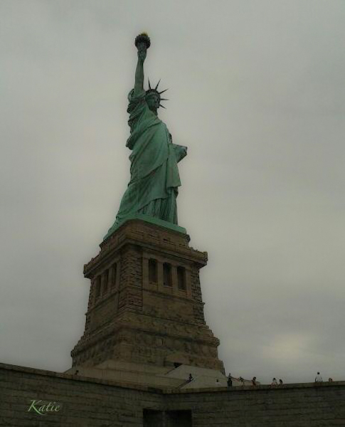 Statue of Liberty Katie 2015