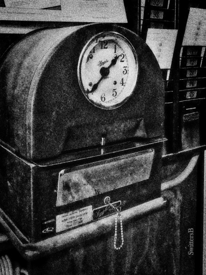 time clock, workplace, SwittersB