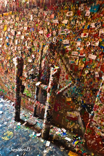 gum wall, Seattle, SwittersB