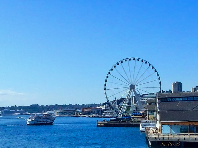 Ferris wheel, Seattle, SwittersB