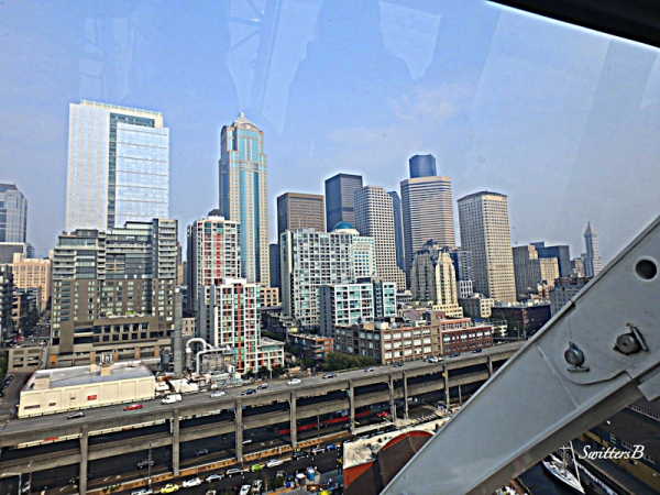 Seattle Skyline, SwittersB, Big Wheel