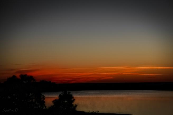 dawn sky, lake, morning, color, SwittersB