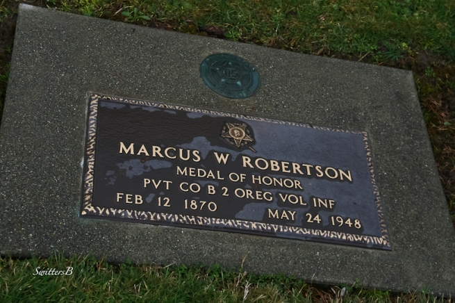 Marcus W. Robertson Medal of Honor SwittersB