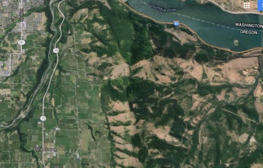 Pine Grove Aerial Google Maps