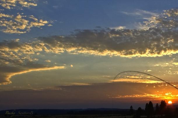 bent rod-sunset-Bucky-SwittersB-Oregon