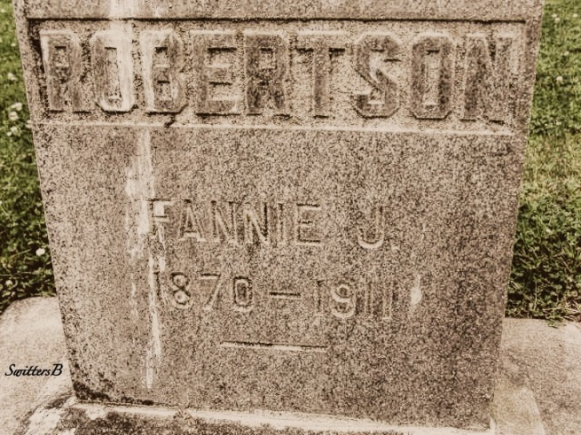 Fannie Robertson 1911-SwittersB