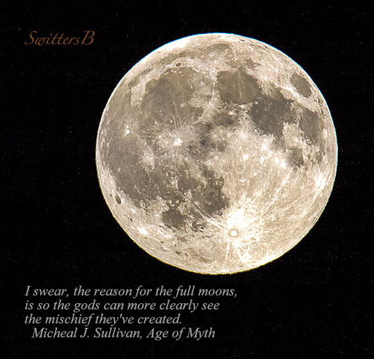 Full Moon-August 17, 2016, SwittersB