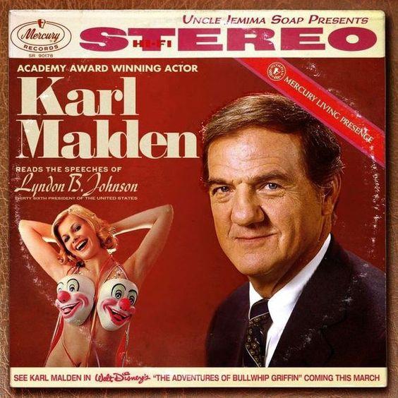karl-malden, record album jacket