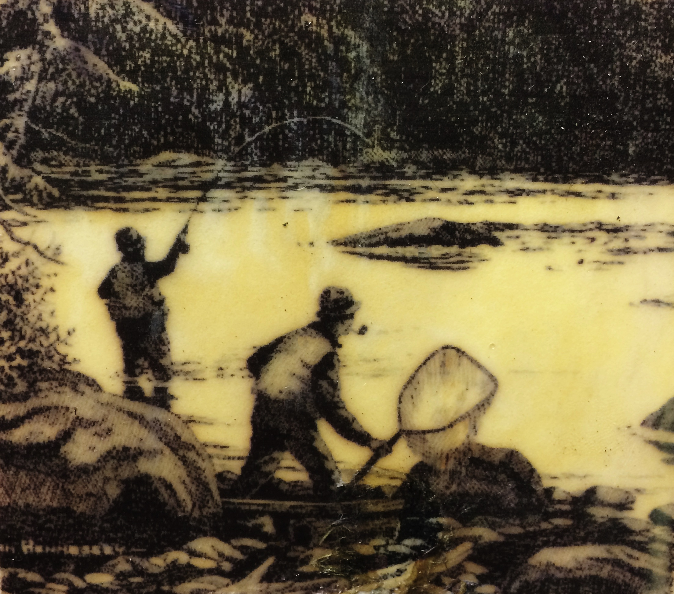 Old mat..fish on net ready gift