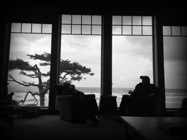 Leo Window Beach BW.jpg