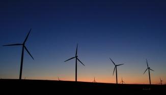Wind Turbines-Duusk-Oregon-SwittersB 2